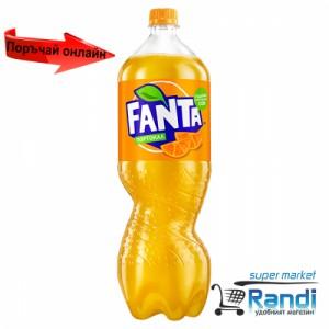 Газирана напитка Fanta портокал 1,5л.