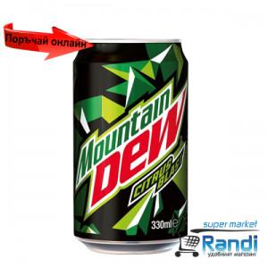 Газирана напитка Mountain DEW 330мл. кен