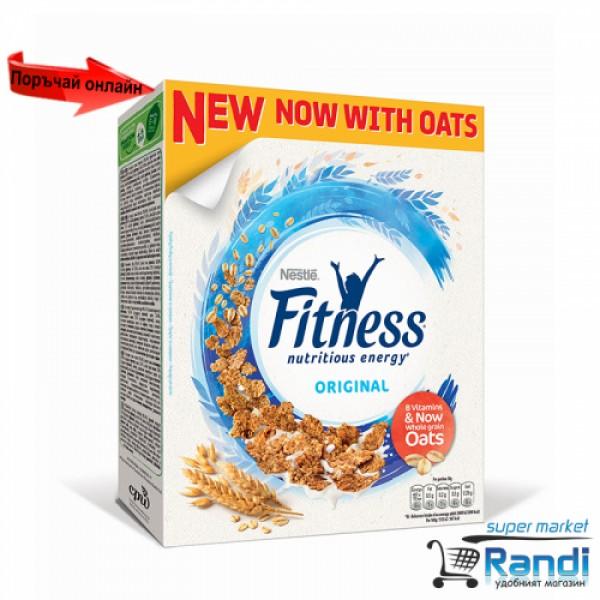 Зърнена закуска Nestle Fitness Натурална 375гр.