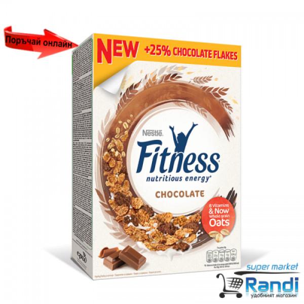 Зърнена закуска Nestle Fitness шоколад 375гр.