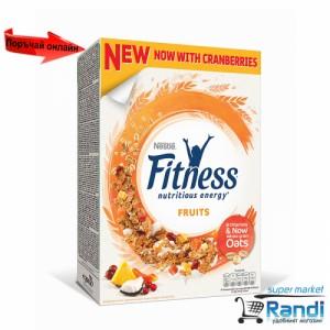 Зърнена закуска Nestle Fitness с плодове 375гр.