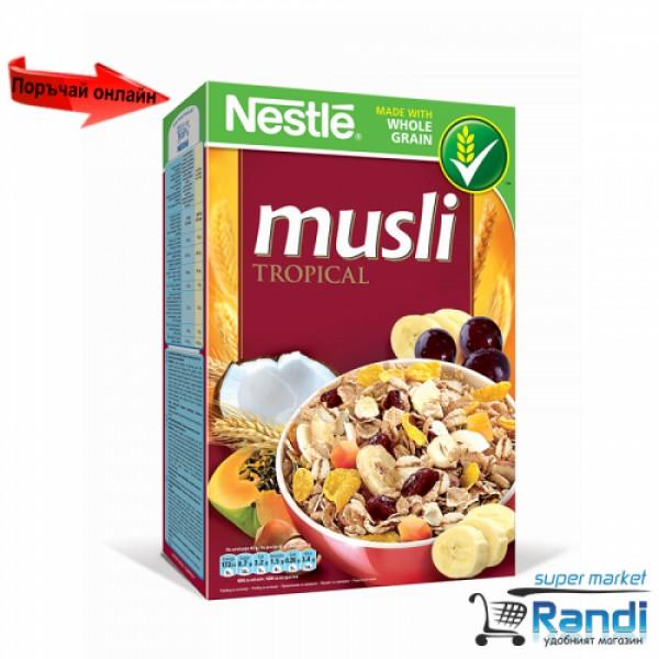 Мюсли Nestle тропически плодове 350гр.
