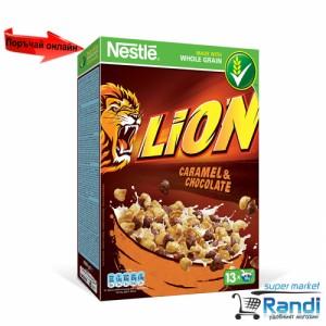 Зърнена закуска Nestle LION 400гр.