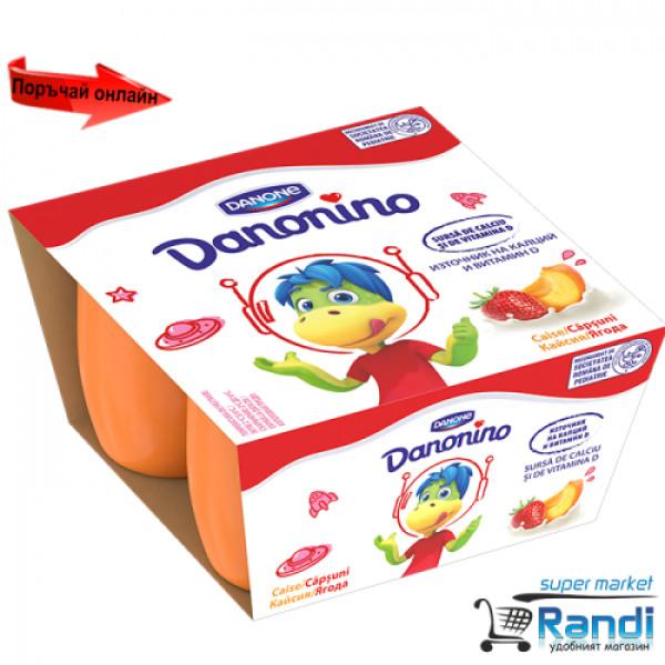 Данонино ягода-кайсия 200гр.