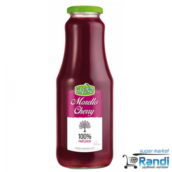 Сок вишни и череши 100% Greno 1л.