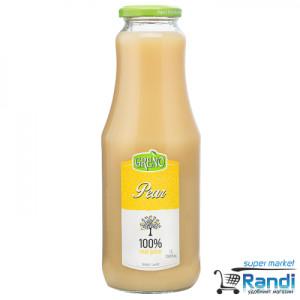 Сок от круши 100% Greno 1л.