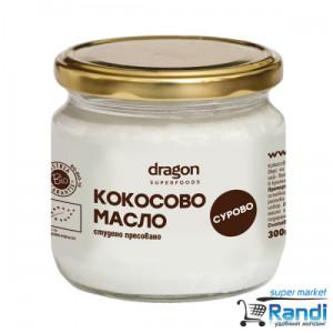 Био Кокосово Масло сурово Dragon Superfoods 300мл.