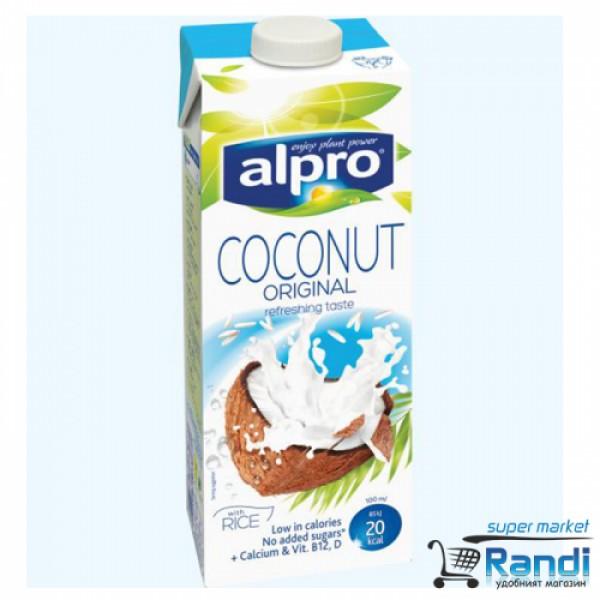 Кокосова напитка с ориз Alpro 1л.