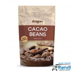 Био Какаови Зърна цели - сурови - Dragon Superfoods 100гр.