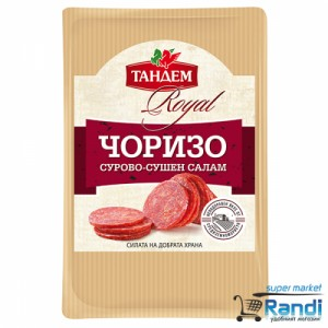 Сурово-сушен салам Чоризо Тандем 100гр. слайс