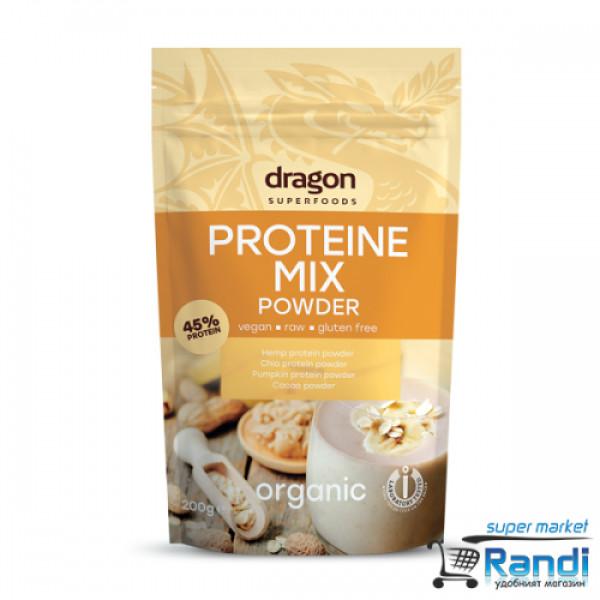 Био Протеин Микс Dragon Superfoods 200гр.