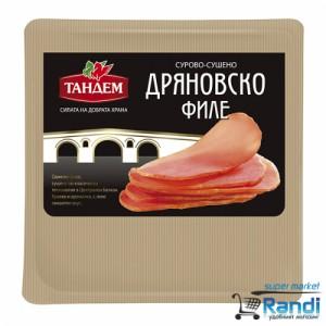 Дряновско филе сурово-сушено Тандем 80гр.