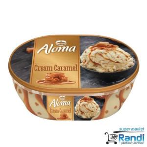 Сладолед Aloma крем-карамел Nestle 490гр.