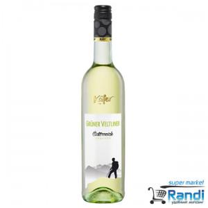 Бяло вино Kafer Gruner Veltliner 750мл.