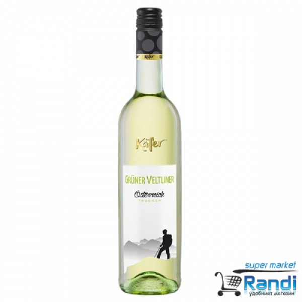 Вино Kafer Грюнер Велтлинер 750мл.
