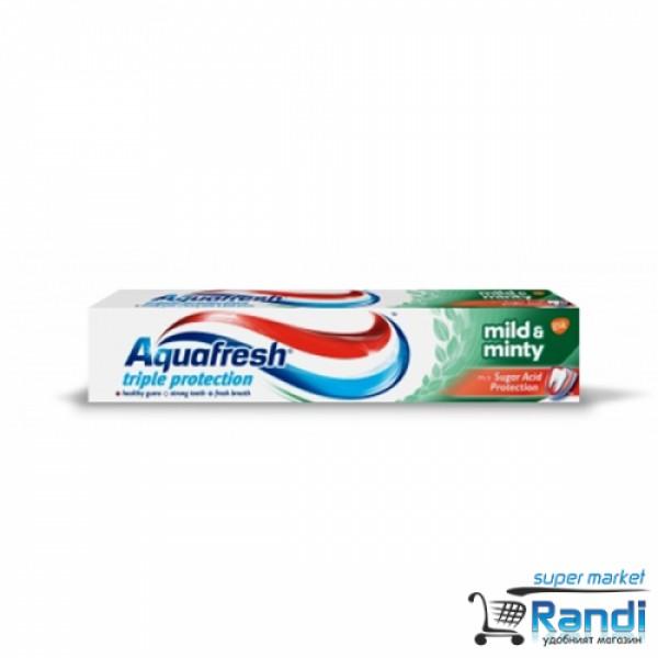 Паста за зъби Aquafresh Triple Protection Mild & Minty  50мл.