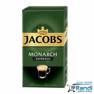 Кафе Jacobs Monarch Espresso 250гр.