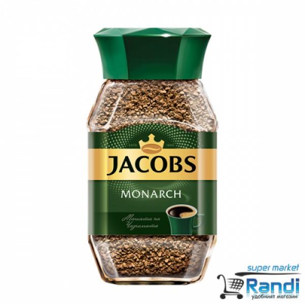 Кафе разтворимо Jacobs Monarch 100гр.