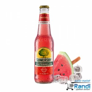 Somersby Watermelon - диня  сайдер 330мл.