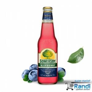 Somersby blueberry - боровинка сайдер 330мл.