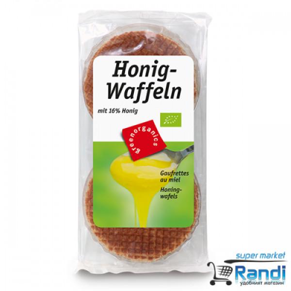 Био Оризови вафли с мед ReisWaffeln 175гр.