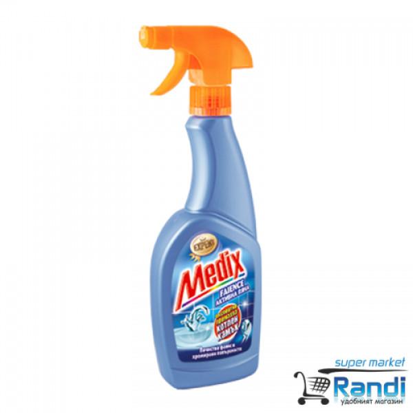 Препарат за почистване на фаянс Medix активна пяна 500мл.