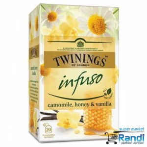 Чай Twinings infuso Camomile, Honey and Vanilla 20бр.*1,5гр