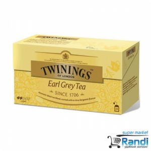 Чай Twinings Earl Grey Tea 25бр.*2гр.
