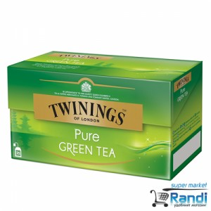 Чай Twinings Pure Green Tea 25бр.*2гр.