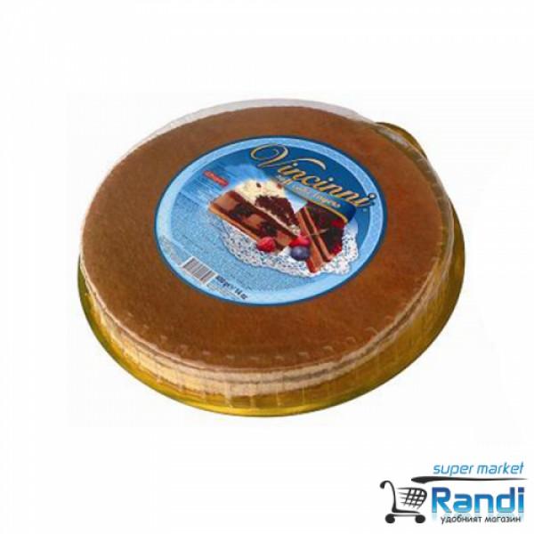Блат за торта Vincinni ванилия 3бр. 400гр.