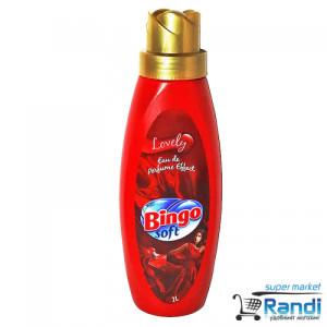 Омекотител Bingo Soft Lovely 1л. червен