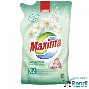 Омекотител Sano Maxima Baby Aloe Vera 1л. - зелен