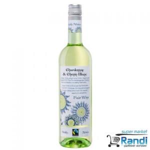 Бяло вино Fair Wine Chardonnay&Chenin Blanc 750мл.