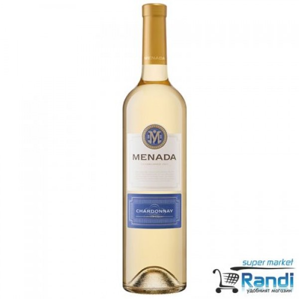Бяло вино Menada шардоне 750мл.