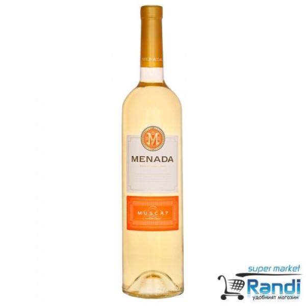Бяло вино Menada мускат 750мл.