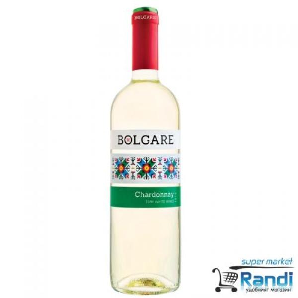 Бяло вино Bolgare шардоне 750мл.