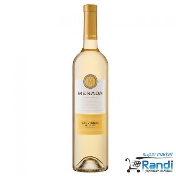 Бяло вино Menada Sauvignon Blanc 750мл.