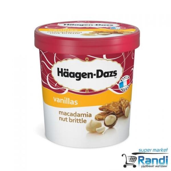Сладолед Макадамия Haagen Dazs 460мл.