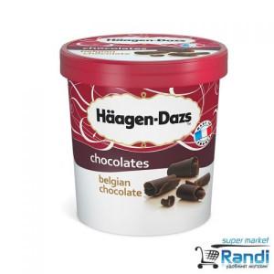 Сладолед Haagen-Dazs белгийски шоколад 460мл.