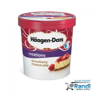 Сладолед Haagen-Dazs ягодов чийзкейк 460мл.