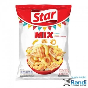 Star Snacks MIX Red Chessy 90гр.