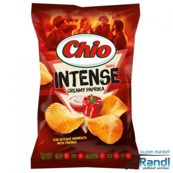 Чио Чипс Intense - къдрав паприка 140гр.