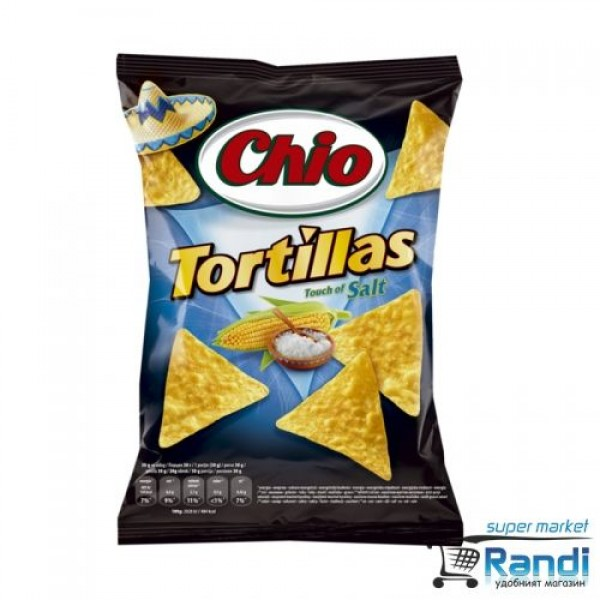 Чио Чипс Tortilla salt 75гр.