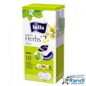 Дамски превръзки ежедневни Bella Panty Herbs  липа 18бр.