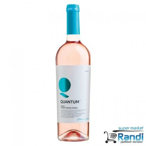 Вино Розе Quantum Pinot Noir & Syrah - 2017г. 750мл.