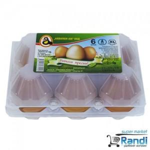 Яйца Аквилон размер XL, клас А - 6 бр.
