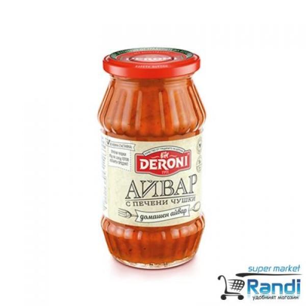 Айвар домашен с печени чушки Deroni 250гр.