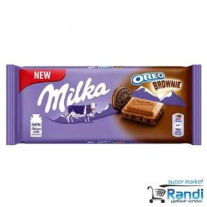 Шоколад Milka Oreo Brownie 100гр.