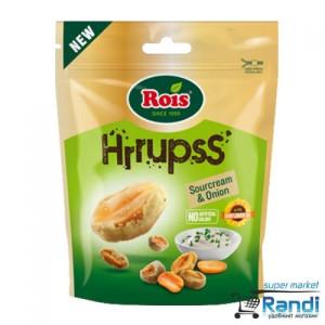 Фъстъци Rois HRRUPSS с вкус сметана и лук 60гр.