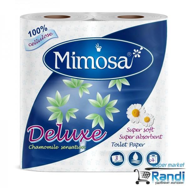 Тоалетна хартия Мимоза лайка 4бр.